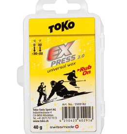 TOKO Express Universal Rub on Wax 40g (0 °C / -30 °C)