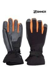 SINNER SINNER HANDSCHOENEN Wolf Glove Black/Orange