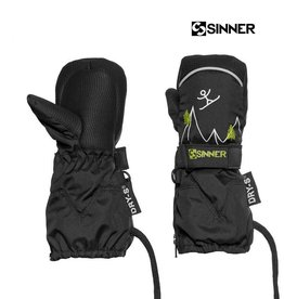 SINNER WANTEN TIMBER UNISEX mitten Black