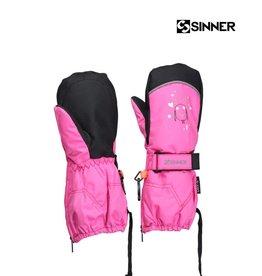 SINNER WANTEN TIMBER GIRLS mitten Neon PINK maat XS