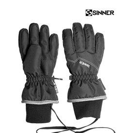 SINNER HANDSCHOENEN UNISEX PHOENIX Glove JR Zwart