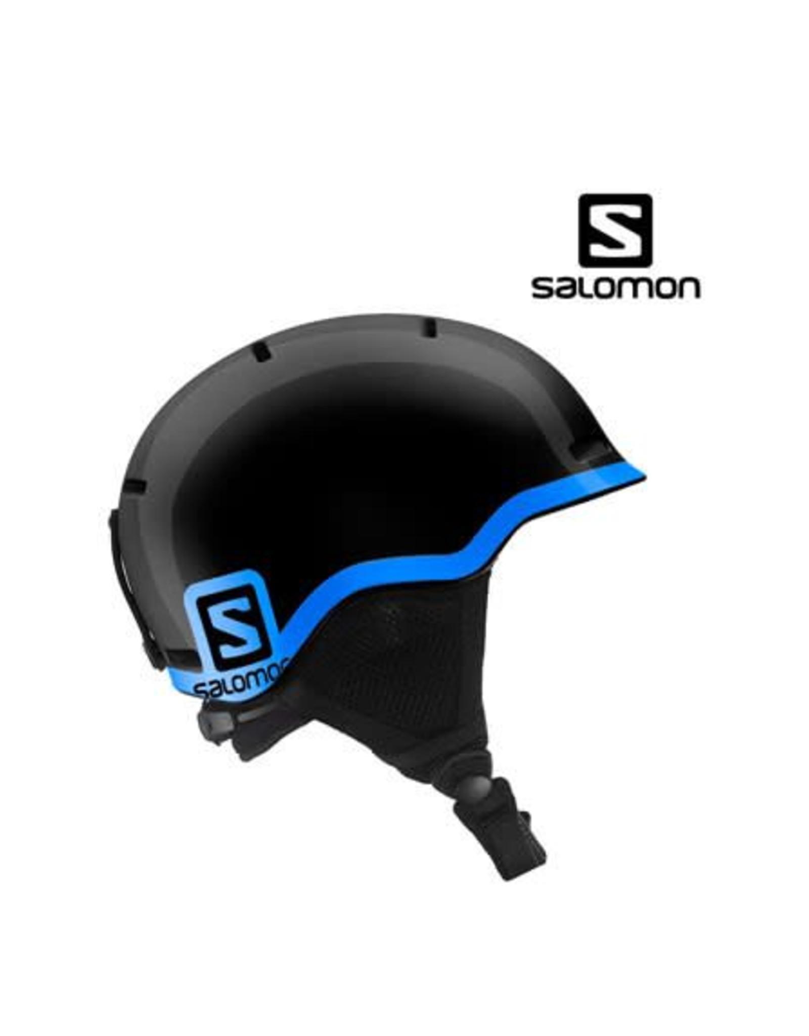 SALOMON Skihelm Salomon GROM Black/Blue S (49/53)