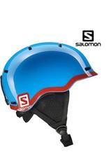 SALOMON Skihelm GROM Blue/Red mt S (49/53)