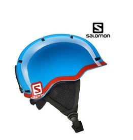 SALOMON Skihelm GROM Blue/Red mt S (49/53)