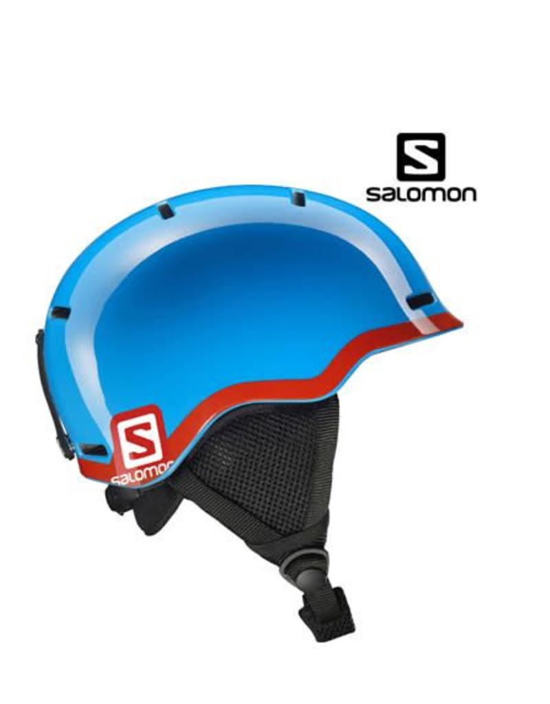 SALOMON Skihelm GROM BlueRed mt S (4953)
