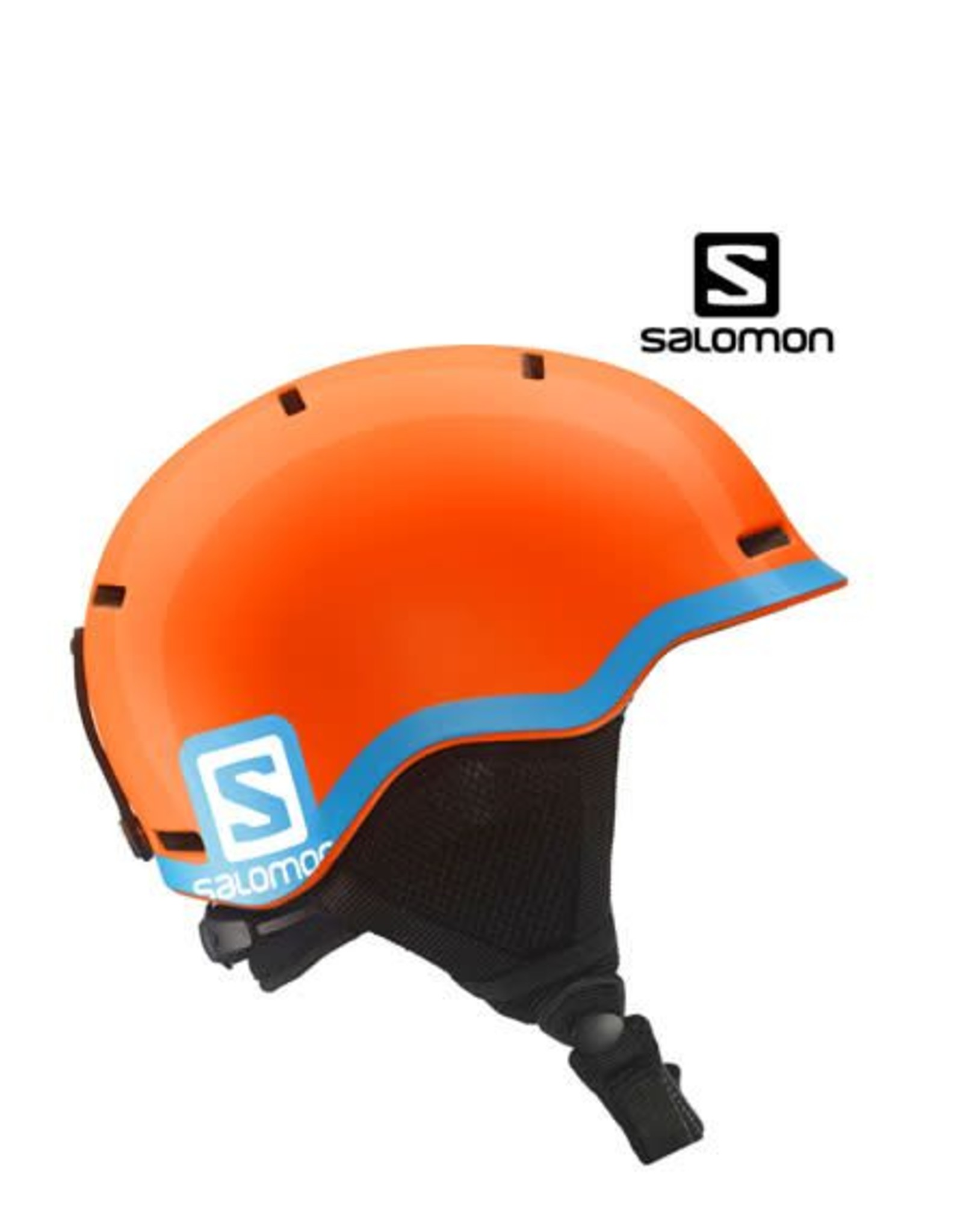 SALOMON Skihelm GROM Orange/blue mt S (49/53)