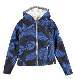 BRUNOTTI CORVY Vest Fleece Girls Night Blue mt 152