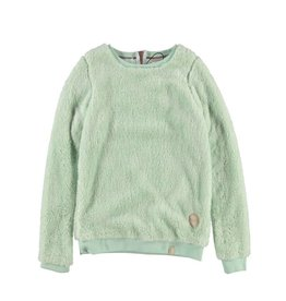 BRUNOTTI LYRA Trui Fleece Girls Seaspray Green mt 152