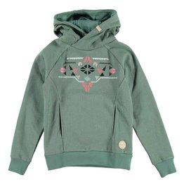 BRUNOTTI NAIADY Sweatshirt Girls Leafy Green mt 152