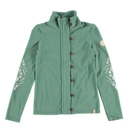 BRUNOTTI NUNKINA Vest Fleece Girls Leafy Green mt 152