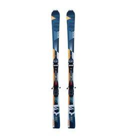 VOLKL Volkl RTM 7.6 Ski's Turq/Oranje/Blauw Gebruikt