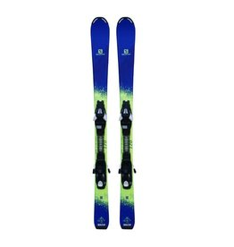 SALOMON QST Ski's Paars/Lime Gebruikt 120cm