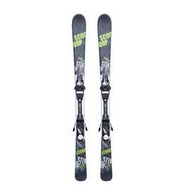 STUF Scoop Ski's Zwart/Wit/Groen Gebruikt