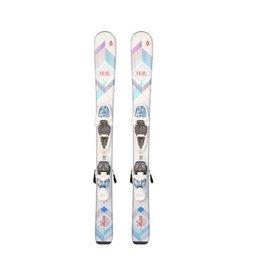 VOLKL Chica jr ski's Wit/ Roze Gebruikt