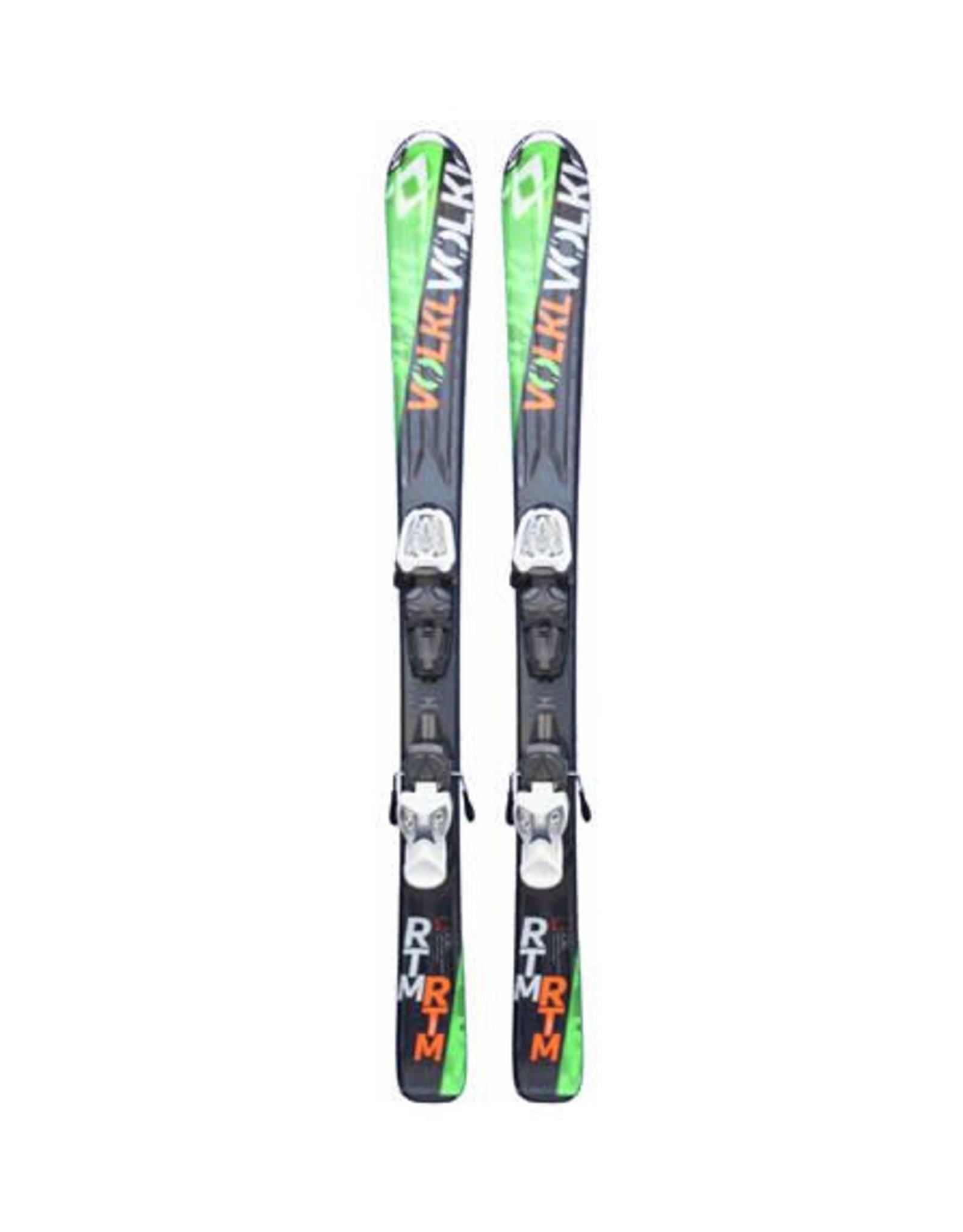 VOLKL Volkl RTM jr Ski's Gebruikt Zwart/Groen/Oranje