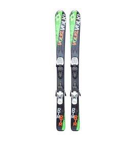 VOLKL RTM jr Ski's Gebruikt Zwart/Groen/Oranje