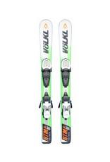 VOLKL Volkl RTM Ski's Gebruikt Wit/Groen/Oranje 90cm