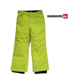 QUIKSILVER SKIBROEK Drizzle Youth Lime mt 140/146