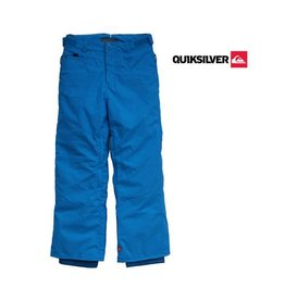 QUIKSILVER SKIBROEK Drizzle Youth Blauw mt 140/146