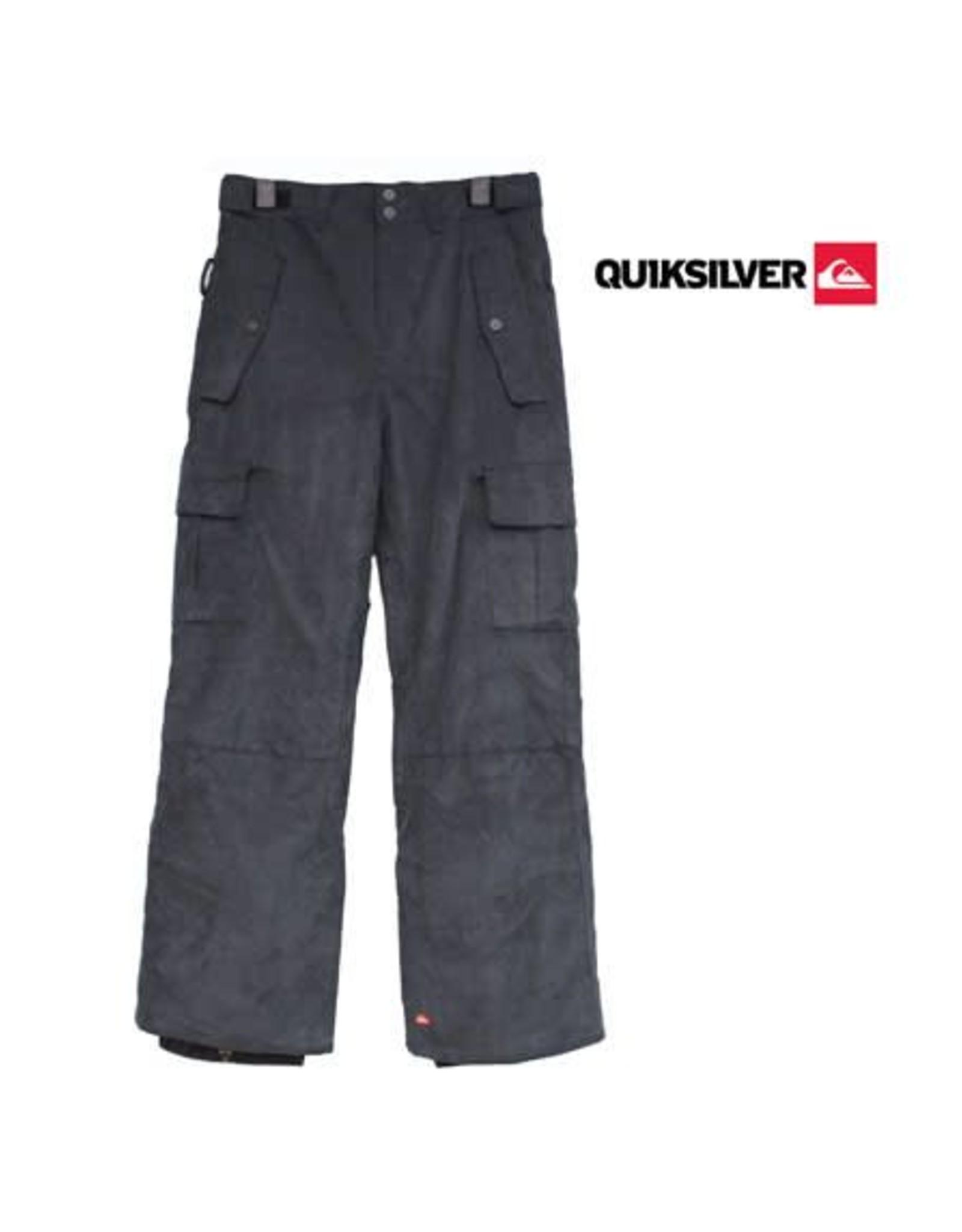 QUIKSILVER Quiksilver SKIBROEK Sherpa Fancy Corduroy Youth Zwart /  Corduroy mt 134