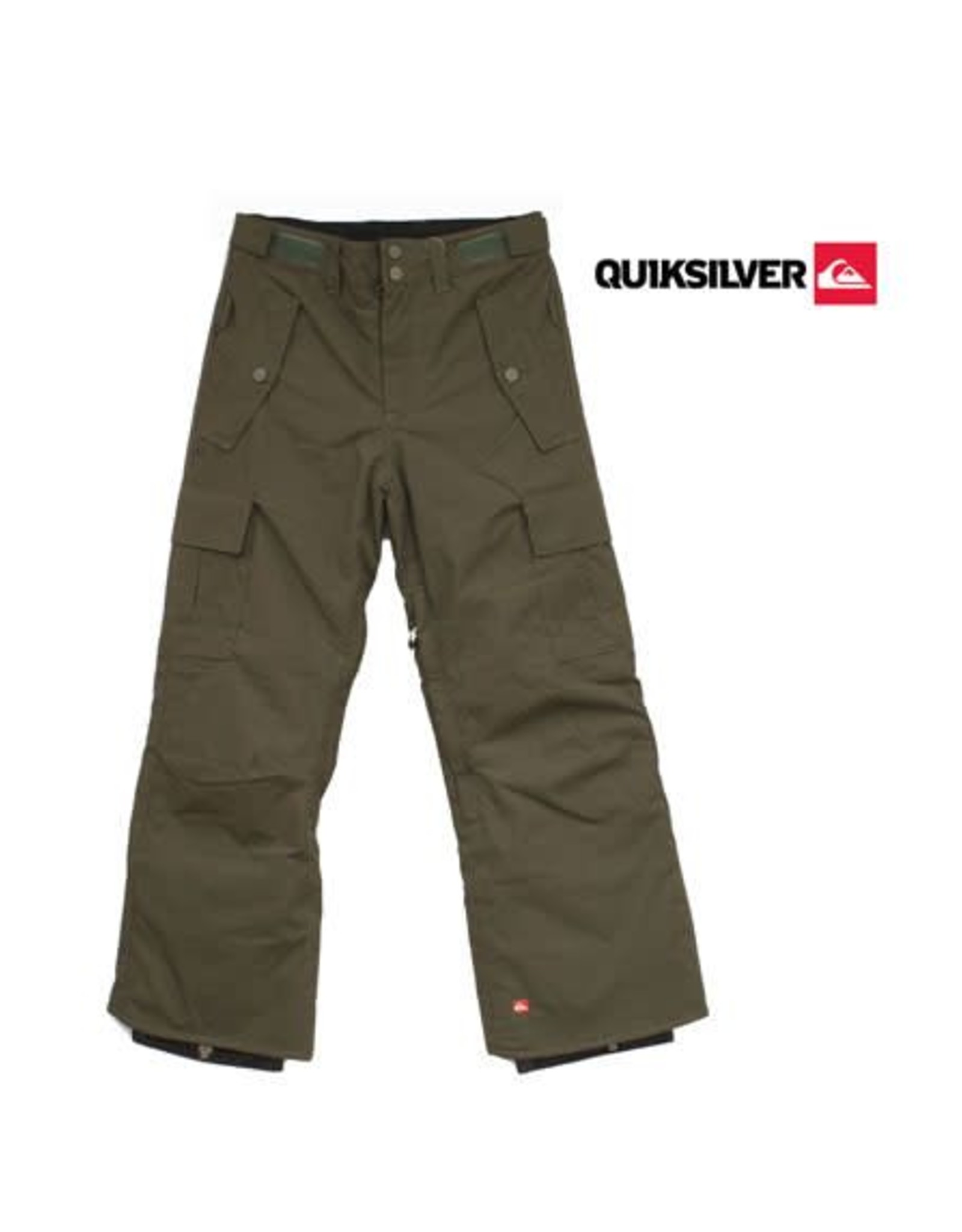 QUIKSILVER Quiksilver SKIBROEK Sherpa Youth Dark Army mt 134