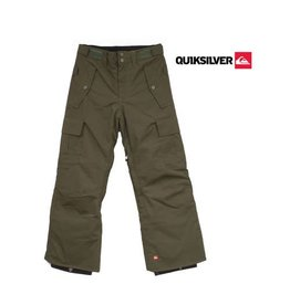 QUIKSILVER SKIBROEK Sherpa Youth Dark Army mt 134