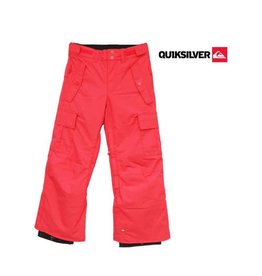 QUIKSILVER SKIBROEK Sherpa Youth Donna Roze/Rood mt 140/146