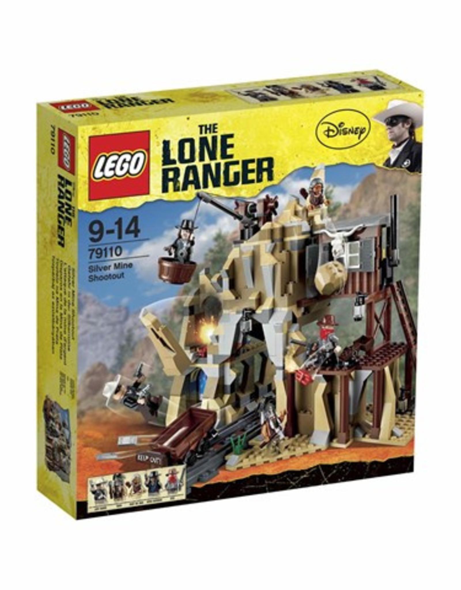 LEGO LEGO 79110 Silver Mine Shootout LONE RANGER