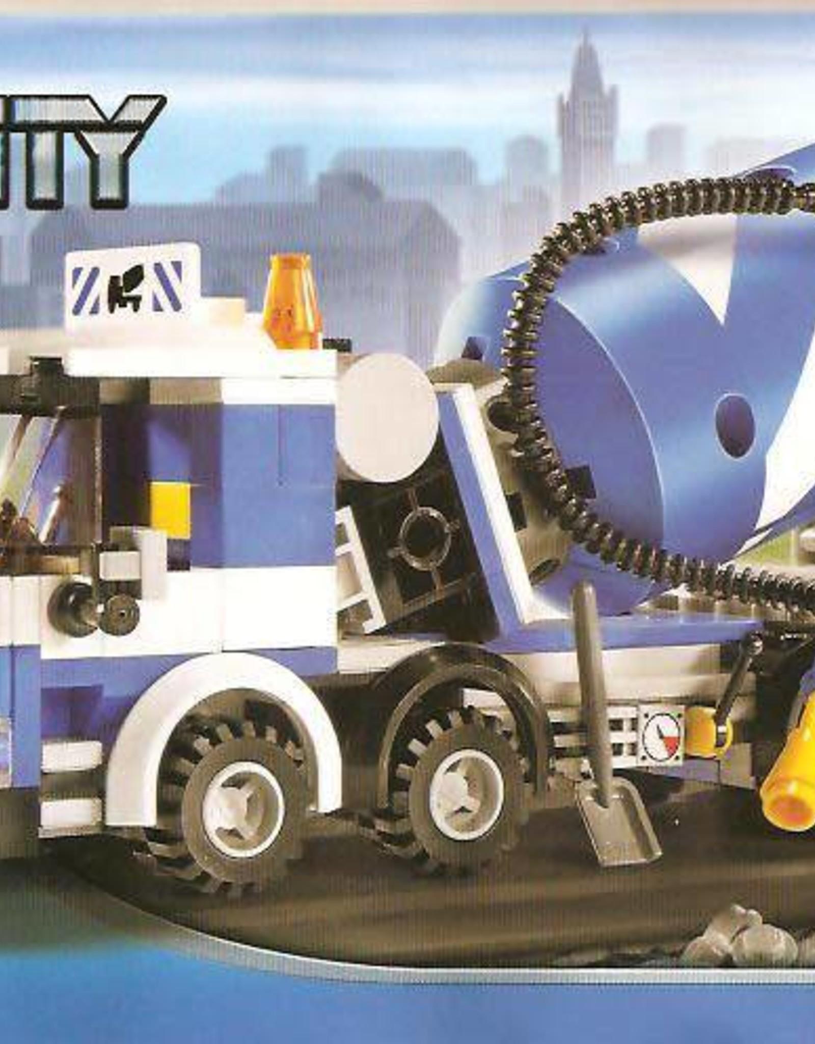 LEGO LEGO 7990 Cement Mixer CITY