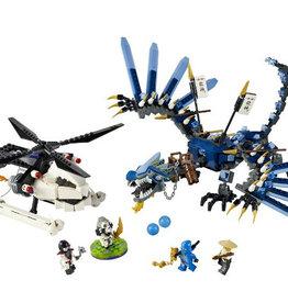 LEGO 2521 Lightning Dragon Battle NINJAGO