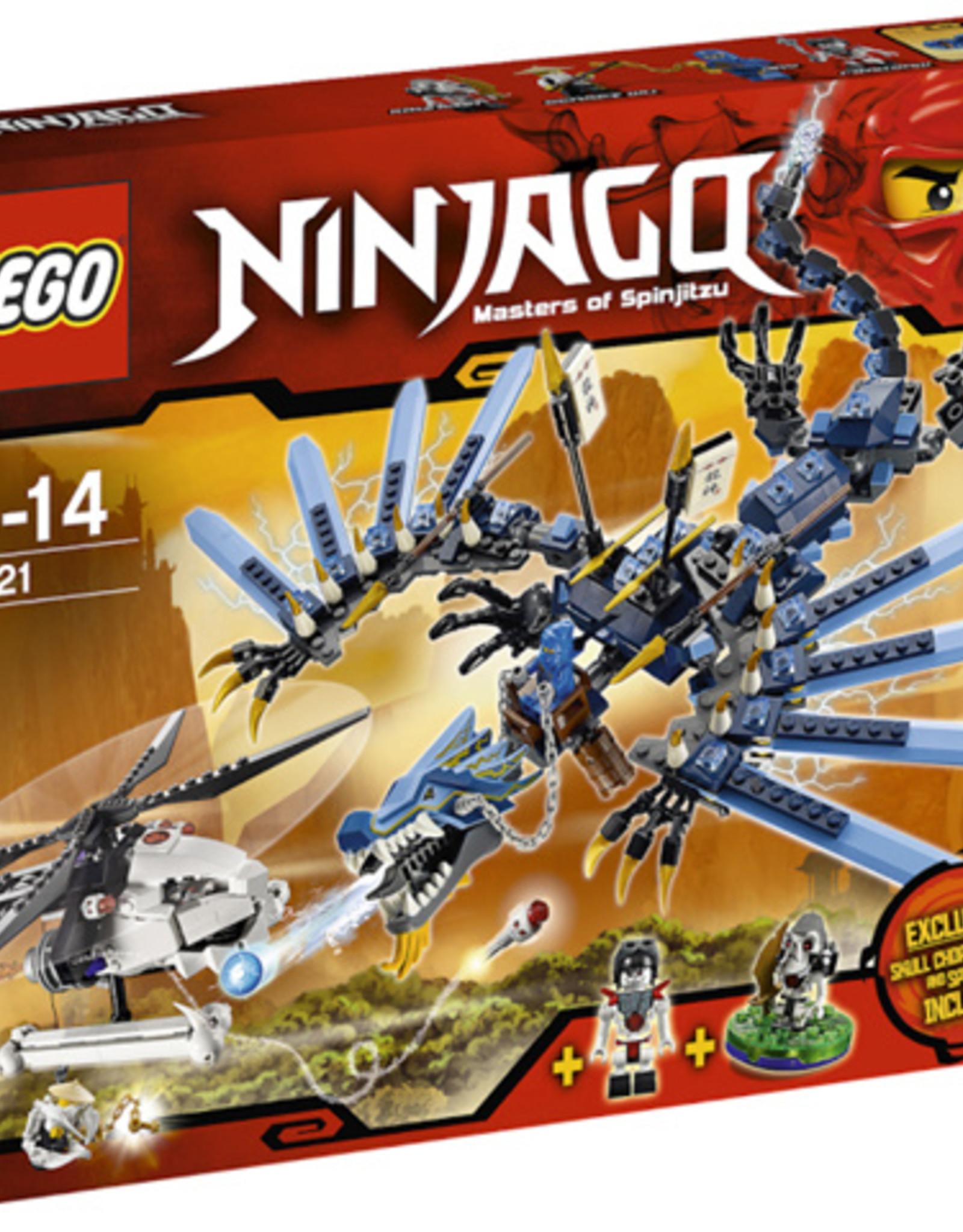 LEGO LEGO 2521 Lightning Dragon Battle NINJAGO