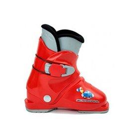 ROSSIGNOL Skischoenen Rossignol R18 Rood mt 25.5  Gebruikt