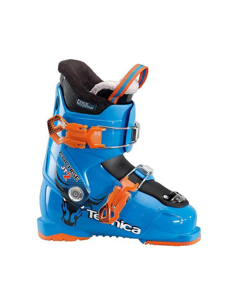 325638aaa83 TECNICA Skischoenen TECNICA Cochise JT2-3r Blauw/Oranje Gebruikt ...