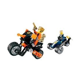 LEGO 8967 Gold Tooth's Getaway AGENTS