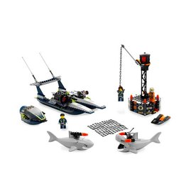 LEGO 8633 Mission 4: Speedboat Rescue AGENTS