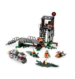 LEGO 8632 Mission 2: Swamp Raid AGENTS