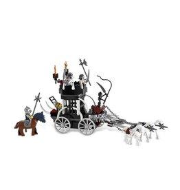 LEGO 7092 gevangen koets met skelet paarden  CASTLE