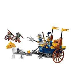 LEGO 7078 Konings Strijdwagen CASTLE