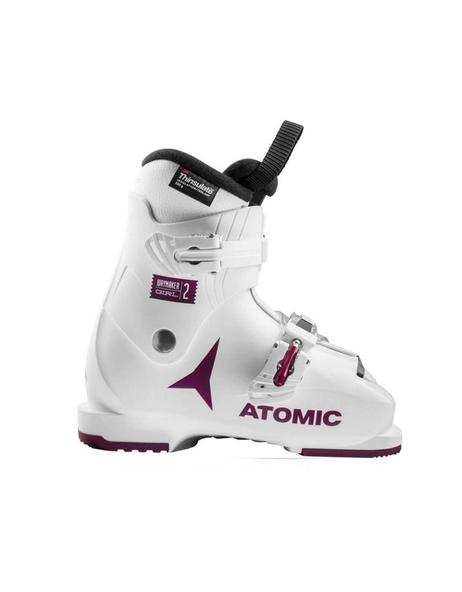 ATOMIC Skischoenen ATOMIC Waymaker Girl 2 Wit/Paars Gebruikt 30 (mondo 19)