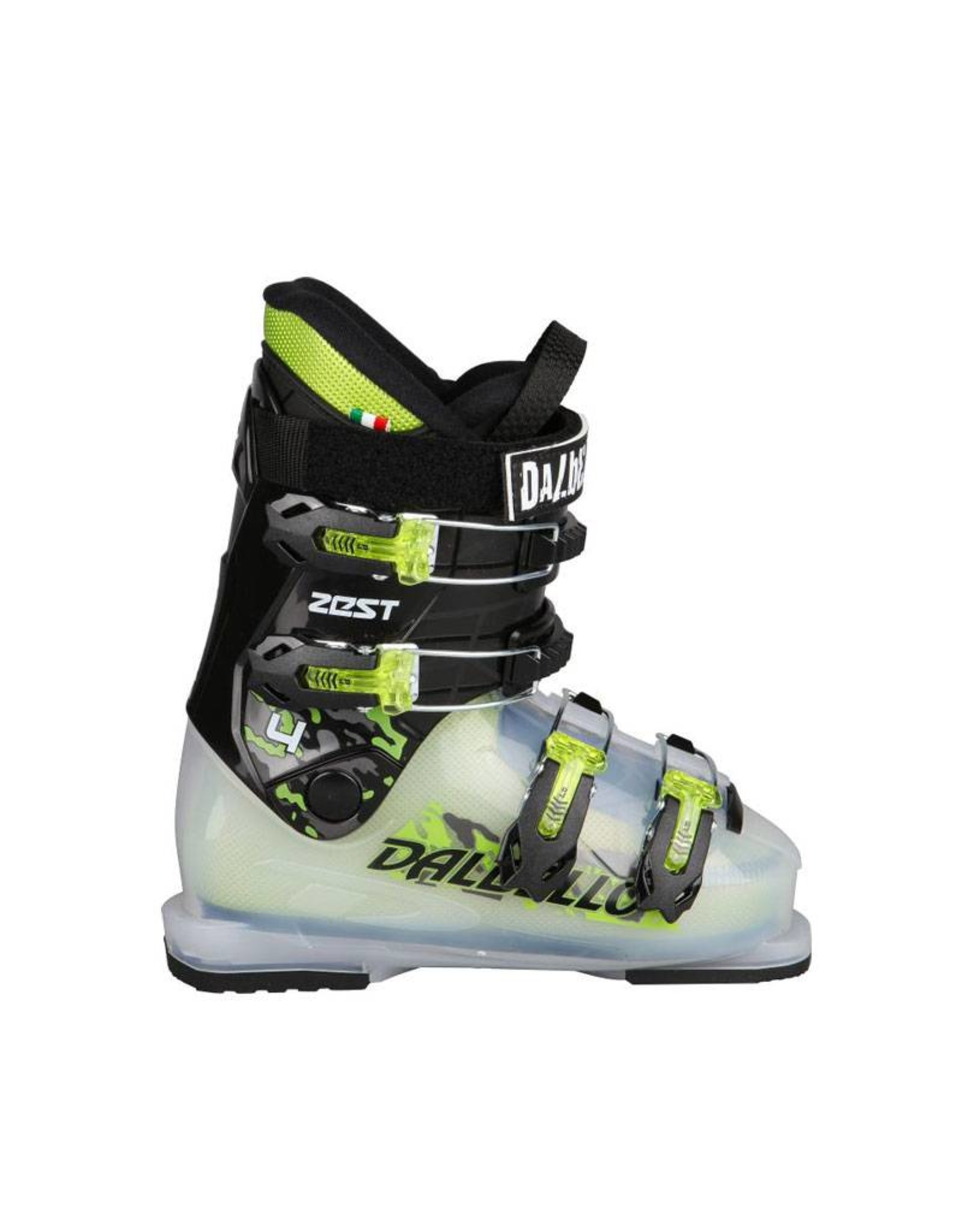 DALBELLO Skischoenen DALBELLO Zest Gebruikt (Zwart/Lime/Trans)