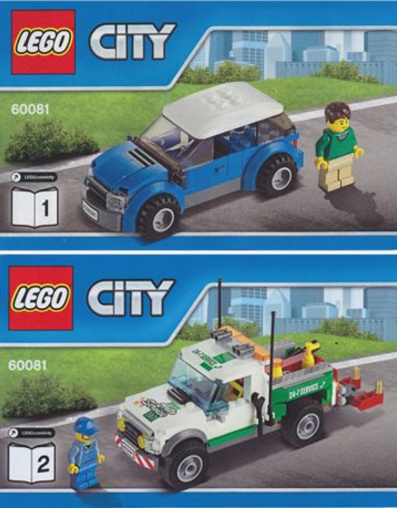 LEGO LEGO 60081 Pickup Tow Truck  CITY