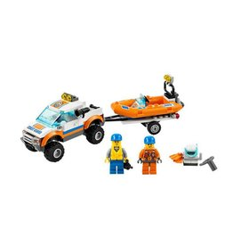 LEGO 60012 Coast Guard met duikersboot CITY