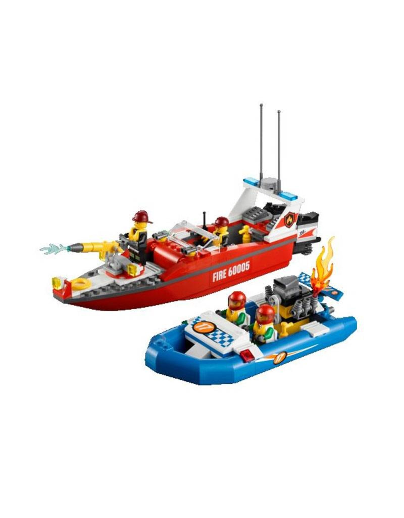 LEGO LEGO 60005 Brandweerboot en raceboot CITY