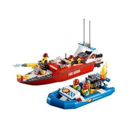 LEGO 60005 Brandweerboot en raceboot CITY