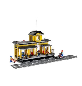 LEGO 7997 Centraal Station met rails CITY