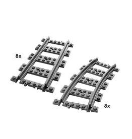 LEGO 7896 - 8 recht + 8 bochten CITY