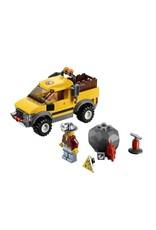 LEGO LEGO 4200 Mijnwerkersauto 4x4 geel  CITY