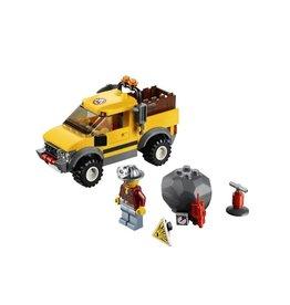 LEGO 4200 Mijnwerkersauto 4x4 geel  CITY