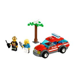LEGO 60001 Brandweerauto commandant  CITY