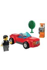 LEGO LEGO 8402 Sportwagen rood + praatpaal CITY